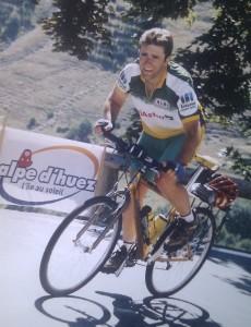 iGrupetto subiendo Alpe d'Huez