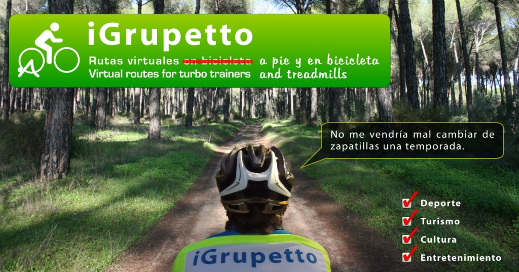 iGrupetto para runners